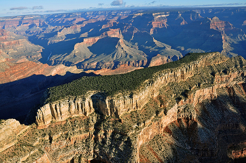 Aerial Image of Grand Canyon National Park, Photo by Grand Canyon NPS