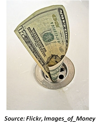Money down drain.png