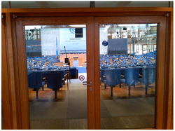 Door to the plenary hall at Bonn Negotiations~May 2013.png