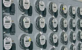 Thumbnail image for Large buildings (offices and apartments) usually have all meters in a location where the owner could easily access the display.