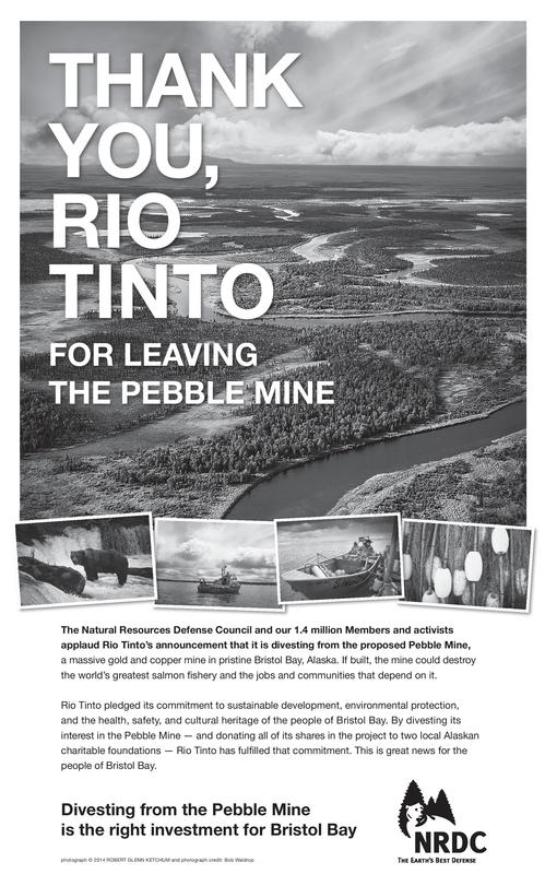 Check out our ad in today's London Financial Times thanking