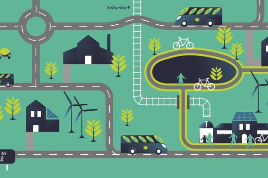Infographic: Clean and Modern Transportation from Farm to Town