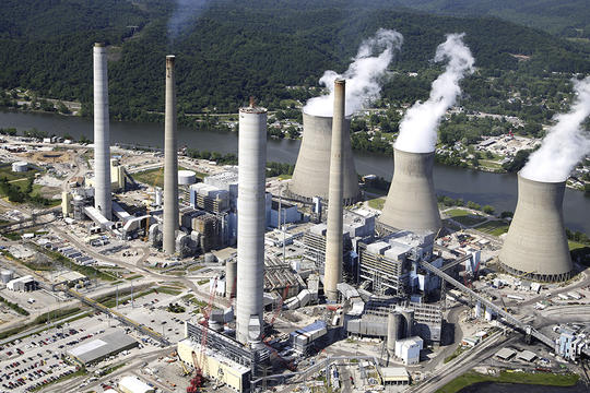 West Virginia coal power plant