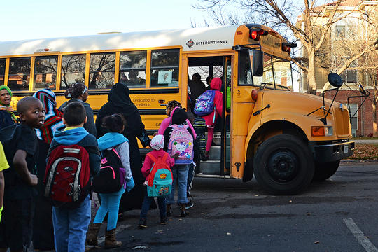 The Long Road to Safer School Buses | NRDC