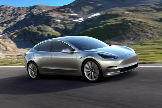 Image courtesy of Tesla Motors