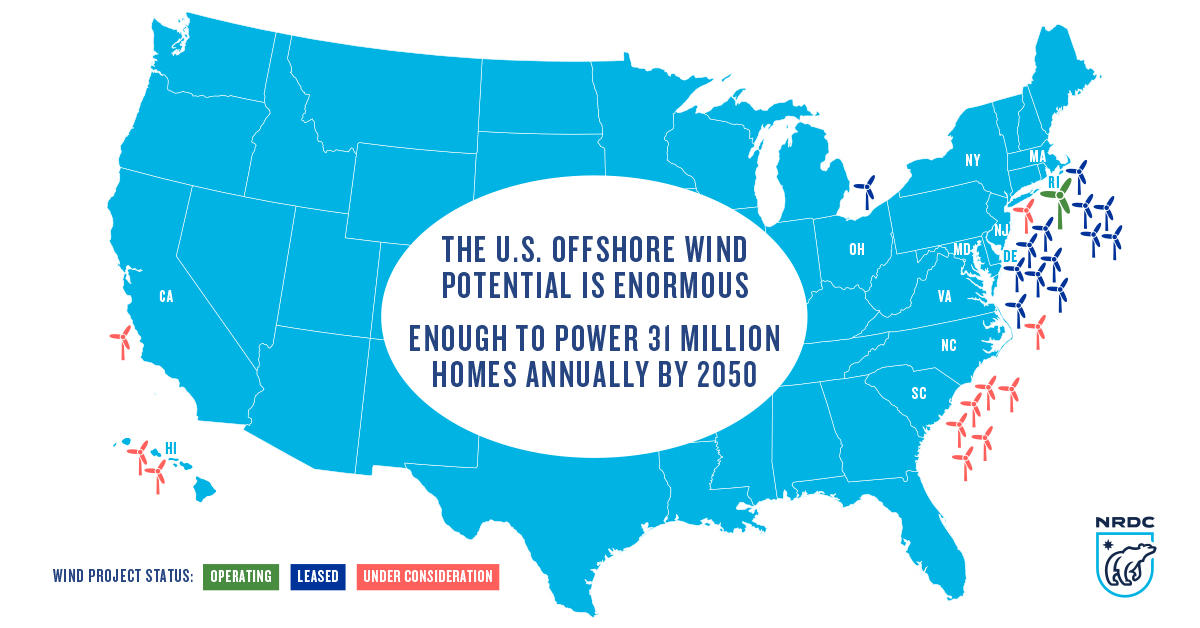 Made In America First U S Offshore Wind Project Now Online Nrdc