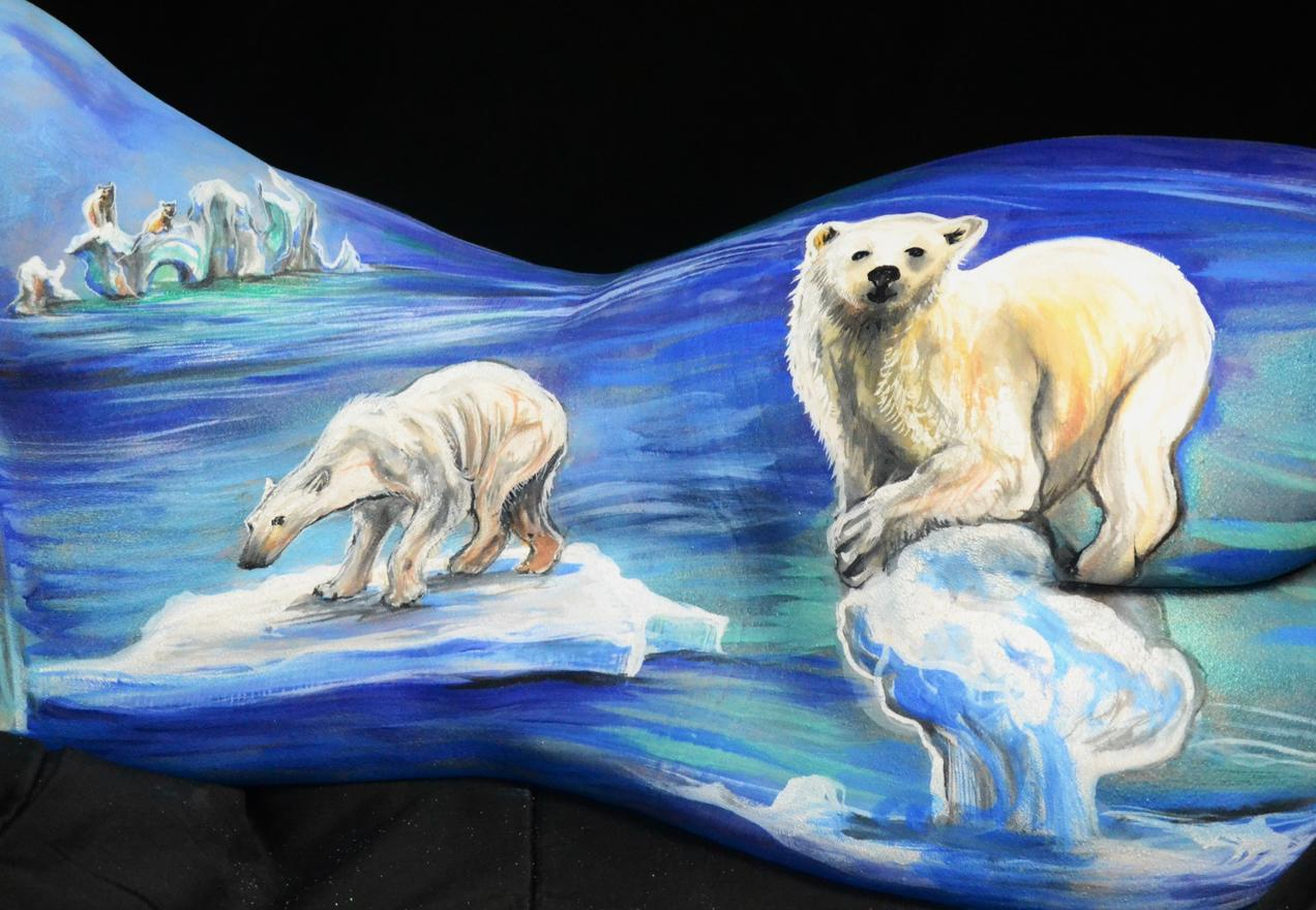 Painted Bodies Tell the Naked Truth About Climate Change | NRDC