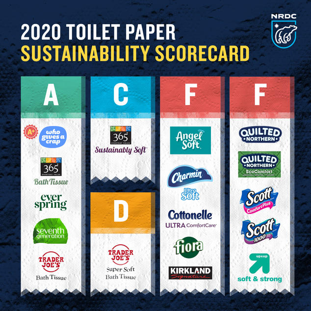 This year's toilet paper winners and losers
