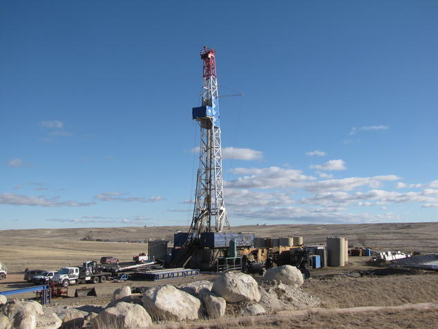 BLM Wyoming Drilling Rig