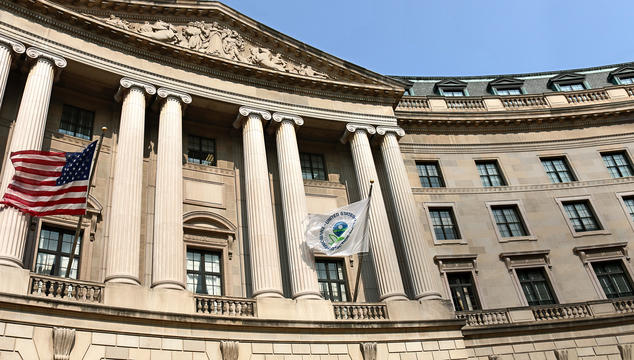 Outside of the Environmental Protection Agency