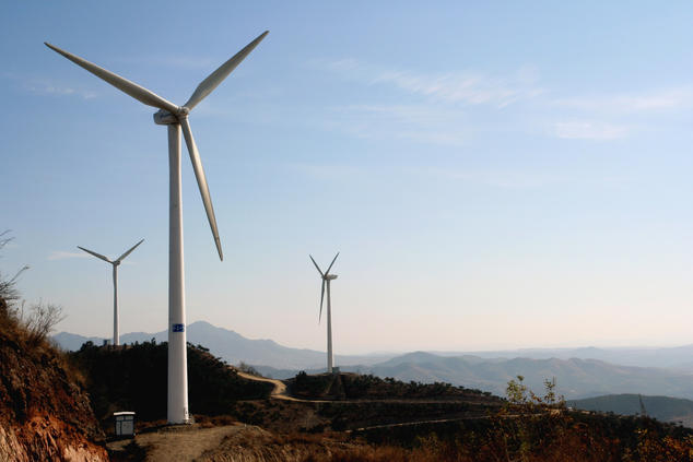 China power sector reform plans aim to boost energy efficiency and tangshanpeng wind farm image courtesy of land rover our planetflickr malvernweather Images