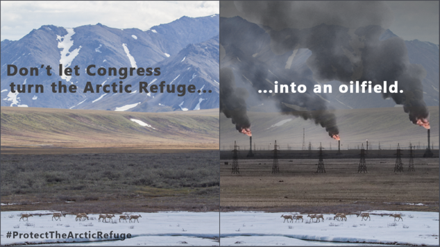 What the Arctic Refuge would look like if drilled