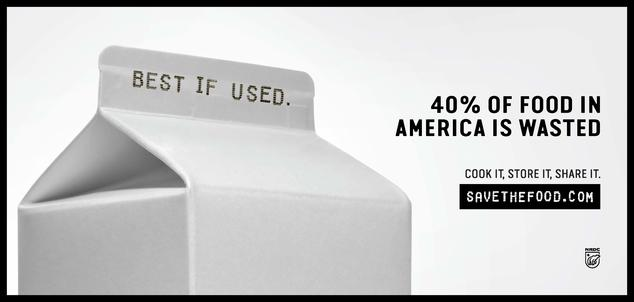 Best if Used. 40 percent of food in America is Wasted. Cook it. Store it. Share it. Savethefood.com