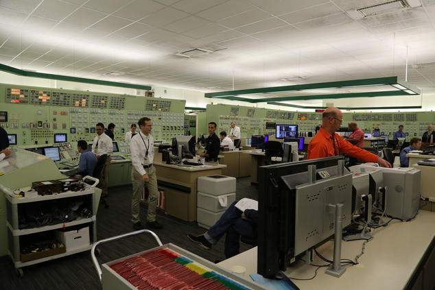 Diablo Canyon Power Plant Control Room