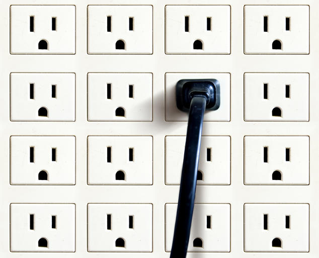 wastage of electricity at home