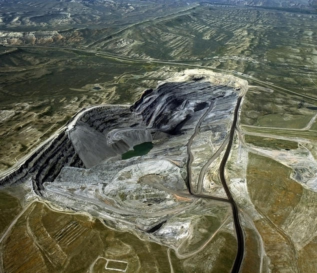 Wyoming coal mine