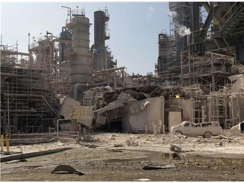 February 18, 2015 explosion at the ExxonMobil Torrance, CA refinery