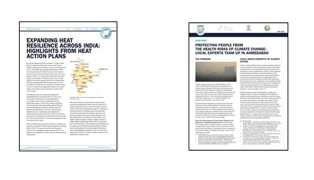 NRDC Fact Sheets on Heat Resilience and Climate Change