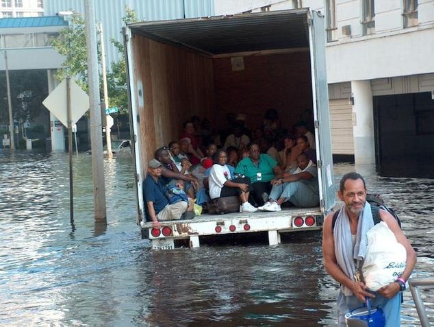 New Orleans Charity Hospital, Hurricane Katrina, September 2005