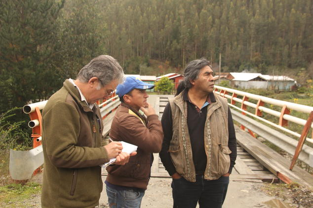 Monitoring industrial forestry at the Butamalal River