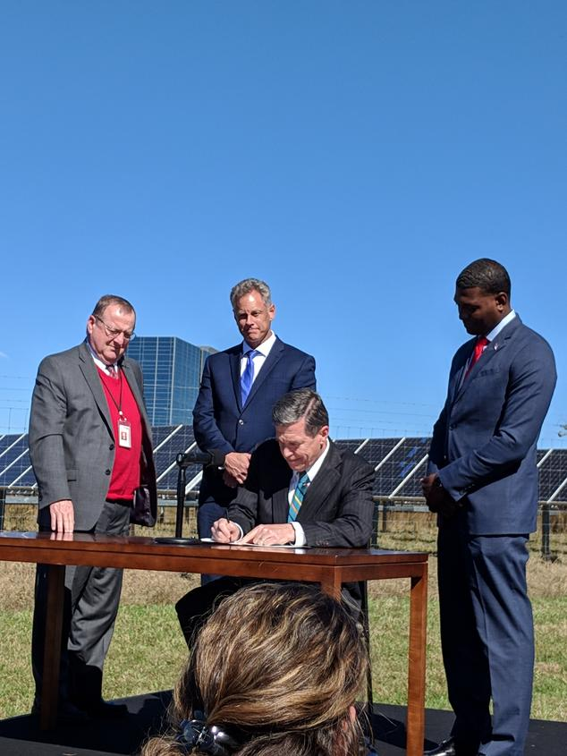 NC Governor Cooper Signs Executive Order 80
