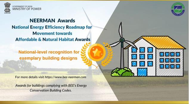 Neerman Awards Flyer promoting the national roadmap on energy efficiency for a movement towards affordable and natural habitat