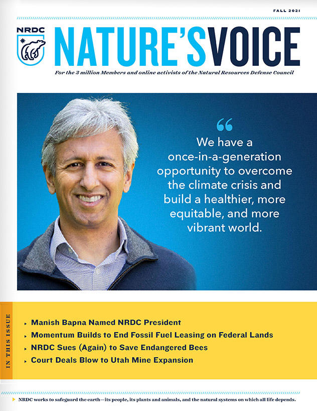 Nature's Voice Fall 2021 issue cover