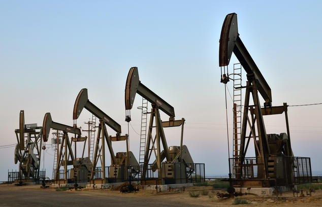 Southern California oil wells