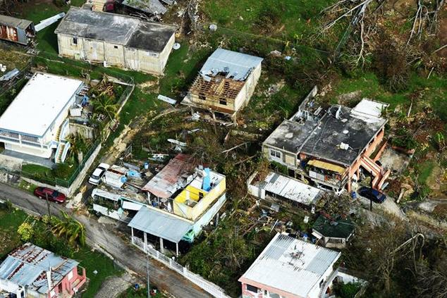 Damage from Hurricane Maria has devastated Puerto Rico and the USVI