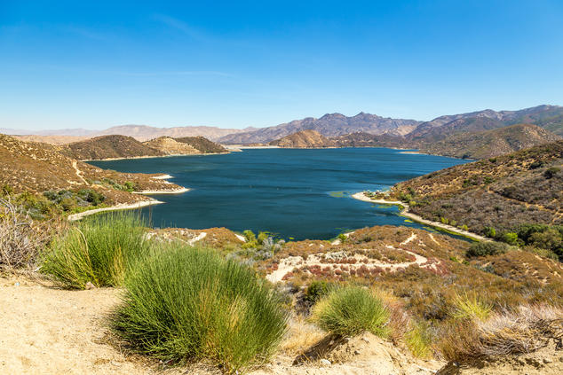 Silverwood Lake in San Bernardino County