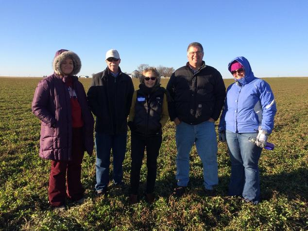 Iowa partners at cover crop field day