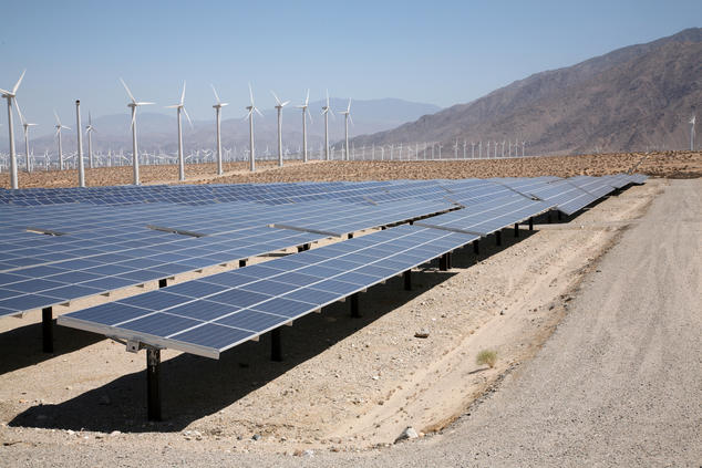 California Renewables near Palm Springs