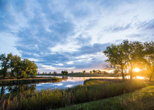 Sunrise at Rocky Mountain Arsenal National Wildlife Refuge