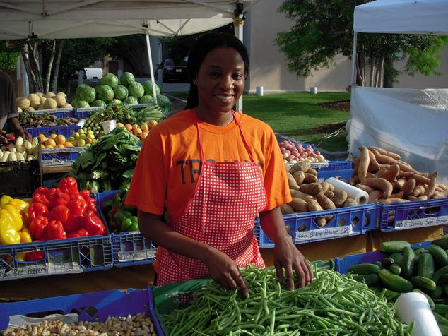 Diverse Farm's Produce at Farmers Market