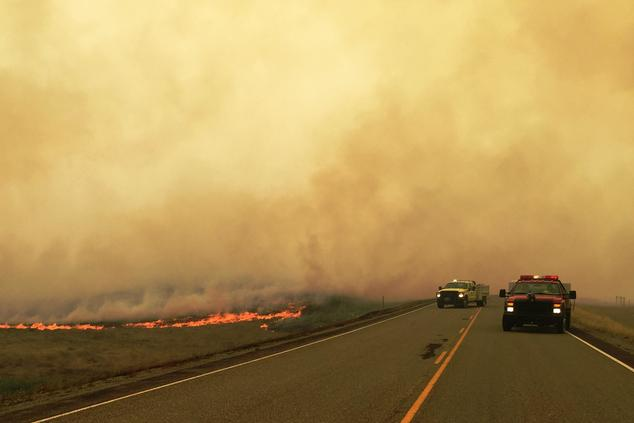 Wildfires in Montana 2015