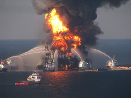 Thumbnail image for Thumbnail image for Explosion of the Deepwater Horizon oil platform