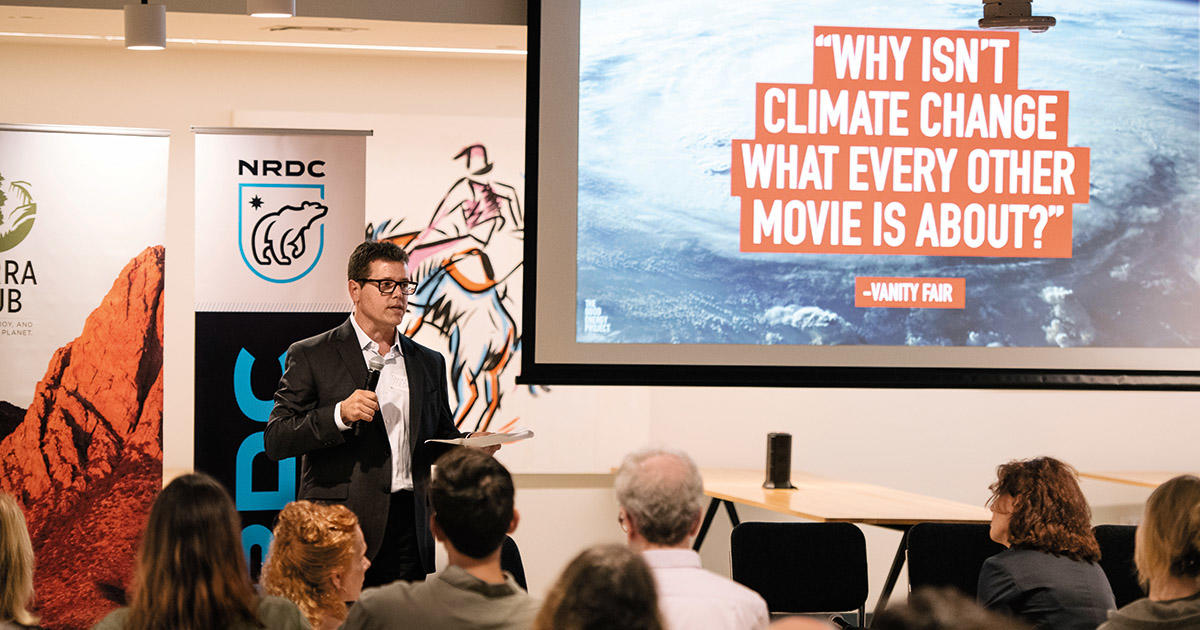 Lights, Camera, Action on Climate