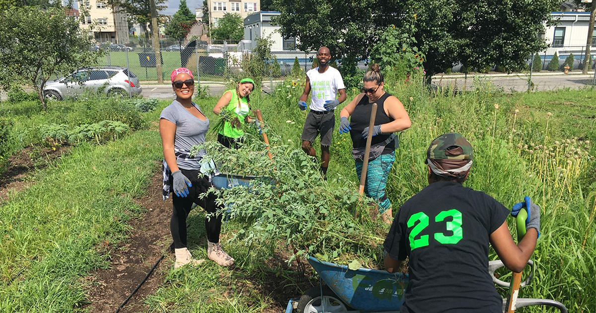 A Garden Grows in Newark—and a Community Grows Around It