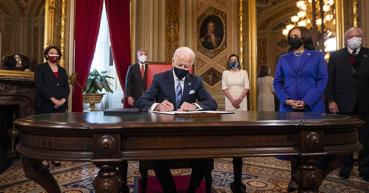 Joe Biden Takes Office Embodying the Triumph of Democracy in a Winter of Peril