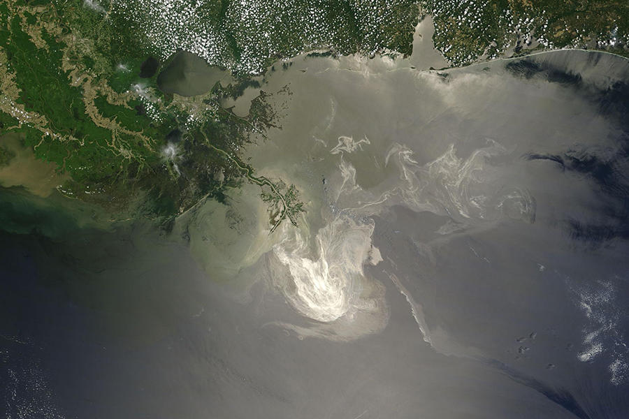 The guy now in charge of enforcing environmental laws defended BP after Deepwater Horizon