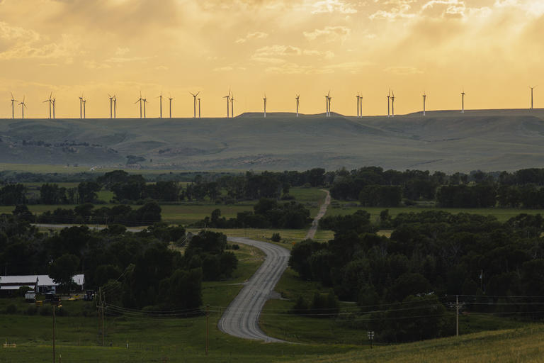 On the Horizon in the Cowboy State: Wind Turbines | NRDC