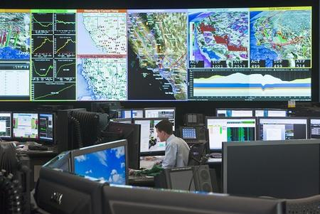 control room grid operator