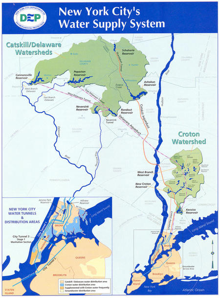 Filtration Decision Near for NYC's Drinking Water Supply | NRDC on map of mountains in ny, cities of catskill new york, map of catskills towns, oak hill new york to catskill new york, northern region of new york, catskill mountains new york, map of catskill hudson and germantown, map of catskill ny area,