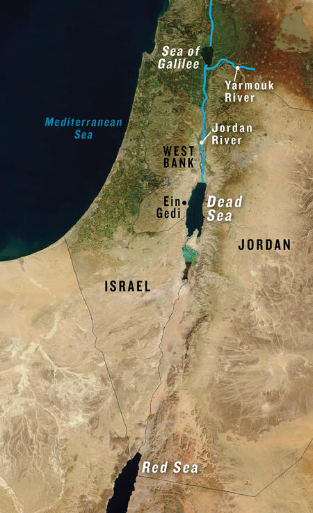 Could Water from the Red Sea Help Revive the Dead Sea? | NRDC on