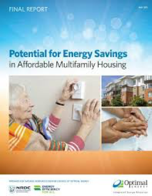 Potential for Energy Savings in Affordable Multifamily Housing