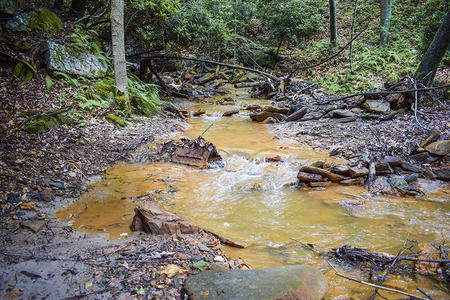 acid mine drainage