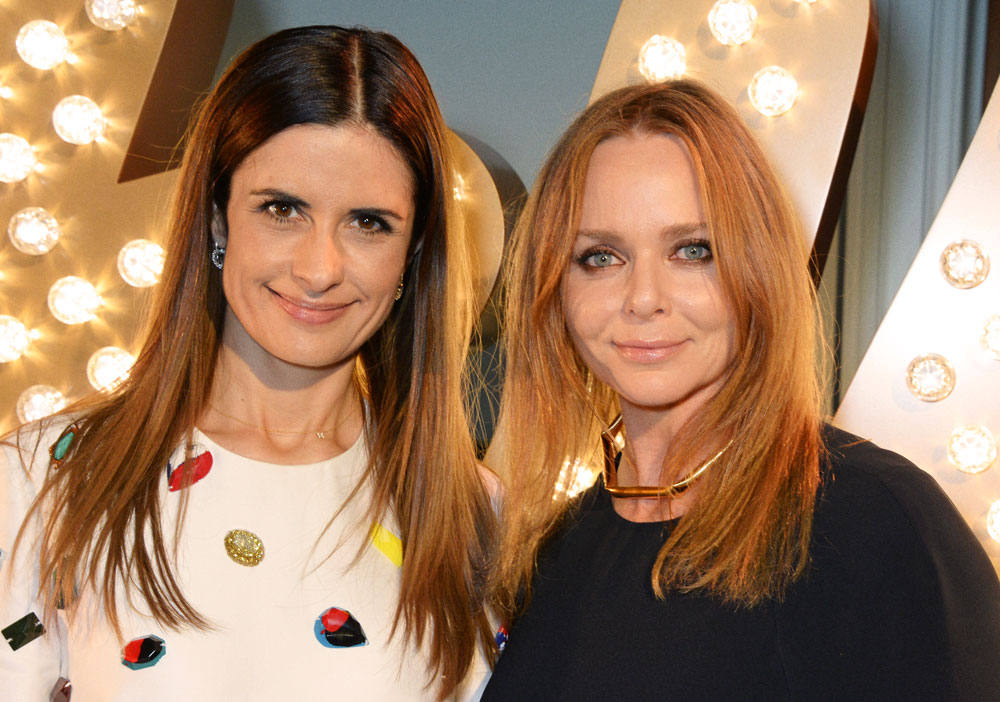 LIvia Firth and Stella McCartney